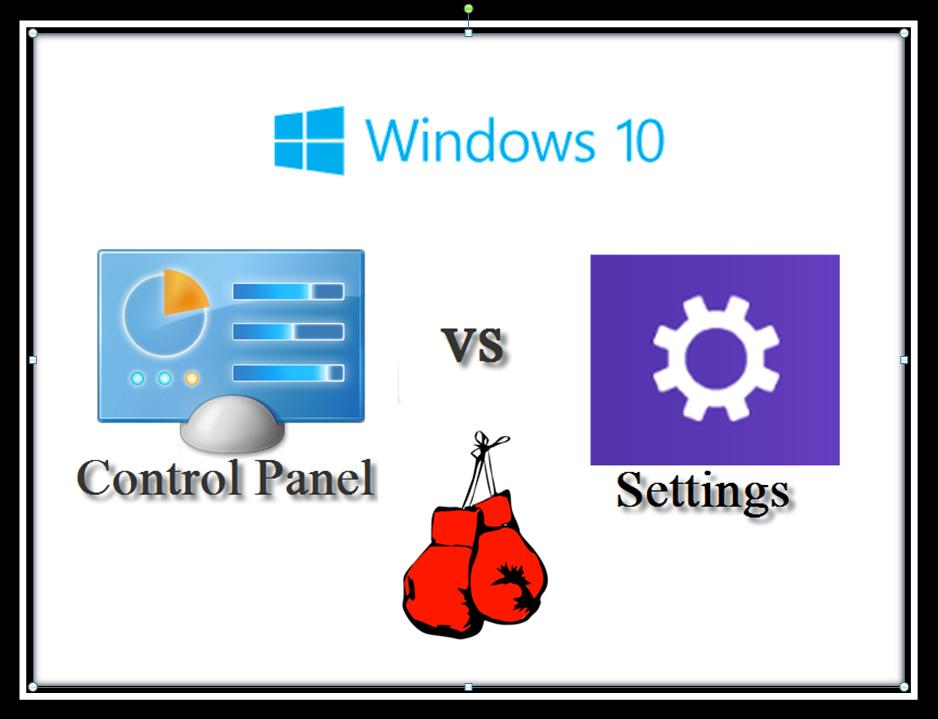 Control Panel and Settings: Why are both still UI options in Windows 10?