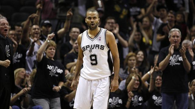 Basketball - Spurs silence Thunder with Game One win