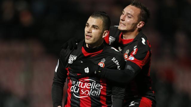 French Ligue 1 - Nice move closer to place in Europe