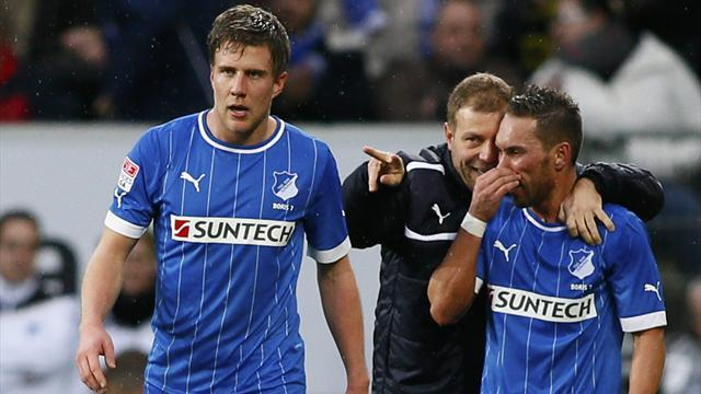 Bundesliga - Hoffenheim enjoy play-off win