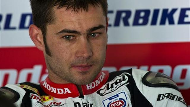 Superbikes - Haslam targets Donington return following surgery