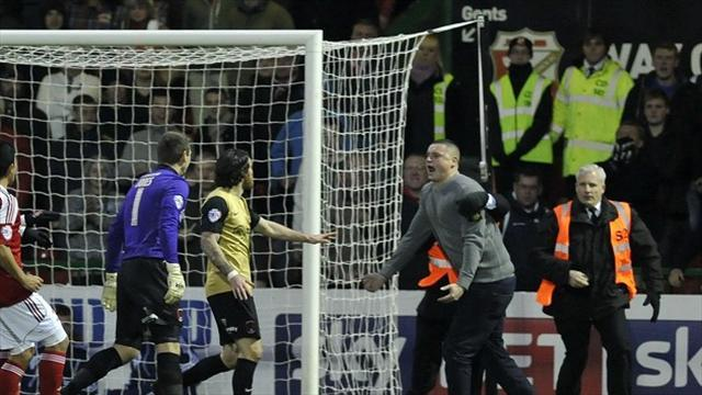 League One - Fan bailed after pitch incident