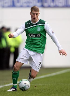 David Wotherspoon scored Hibernian's second goal
