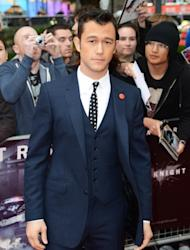 Joseph Gordon Levitt seen looking dapper at the European premiere of 'The Dark Knight Rises' at The BFI IMAX -- Getty Images