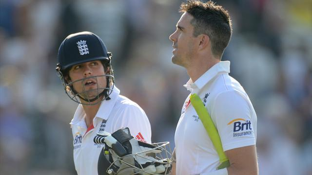 Ashes - KP and Cook begin England's recovery after Agar's heroics