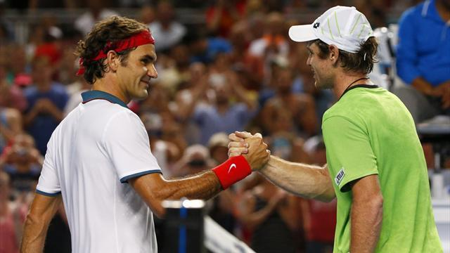 Australian Open - Federer makes light work of Kavcic