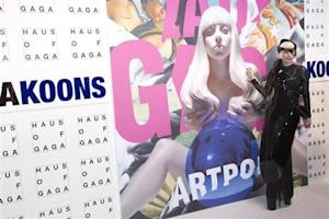 "Lady Gaga attends the ""ArtRave"" release event of her new album ""Artpop"" in New York"