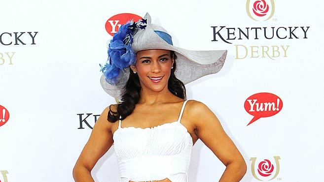 Paula Patton Kentucky Derby