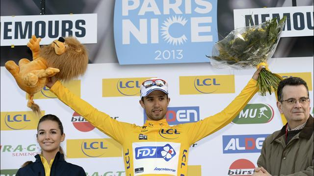 Cycling - Bouhanni takes stage and lead at Paris-Nice
