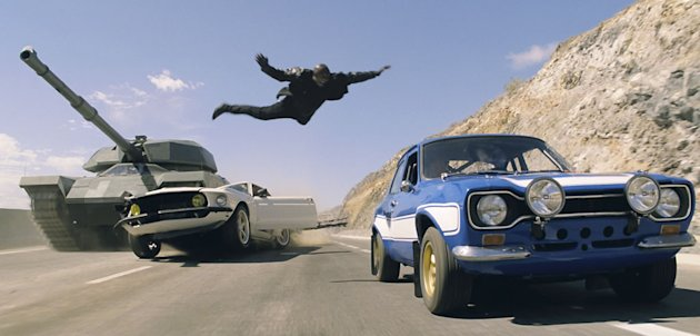 Tyrese in 'Fast & Furious 6'