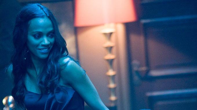 Takers Screen Gems 2010 Production Photos Zoe Saldana Michael Ealy