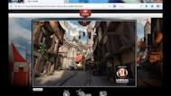 Video screenshot: Engineering teams at Mozilla and Epic ported Unreal Engine 3 to the Web