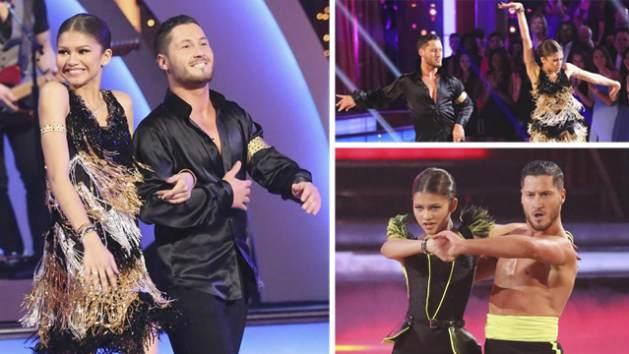 Zendaya and Valentin Chmerkovskiy, April 22, 2013 -- ABC