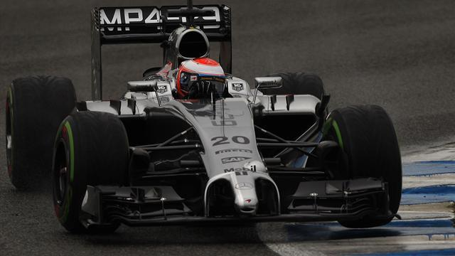 Formula 1 - Jerez test round-up: Magnussen fastest