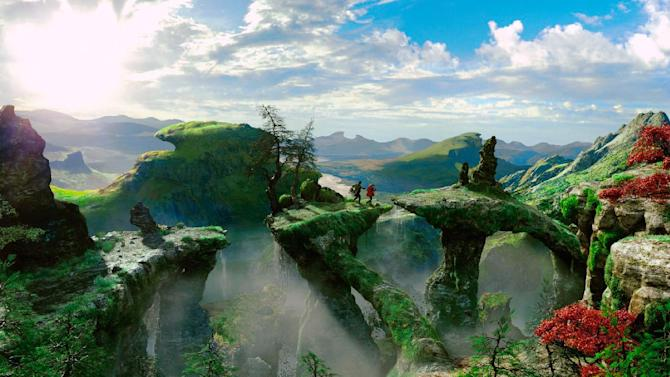 """This film image released by Disney Enterprises shows a scene from """"Oz the Great and Powerful."""" (AP Photo/Disney Enterprises)"""