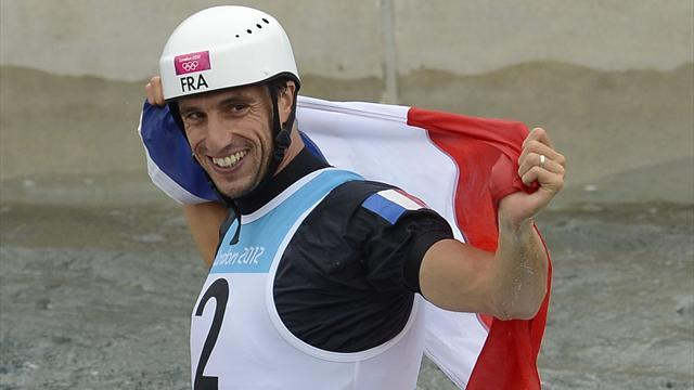 Olympic Games - Triple Olympic canoeing champion Estanguet retires
