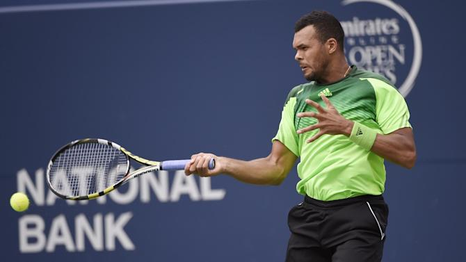 ATP Toronto - Tsonga battles past Murray to reach semis