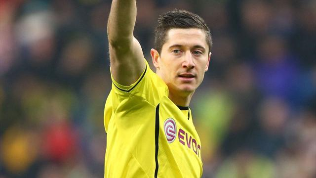 Bundesliga - Dortmund striker Lewandowski denies hitting teenager