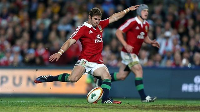 Rugby - Halfpenny shines in Lions victory