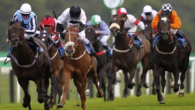 Horse Racing - Splash of Ginge wins big at Newbury
