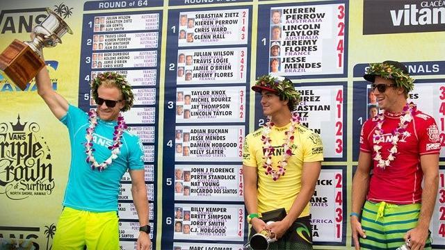 Surfing - Melling wins Vans World Cup of Surfing