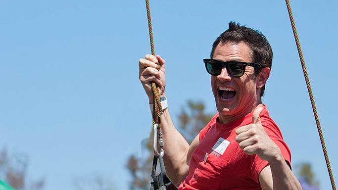 Johnny Knoxville Spcial Olympics