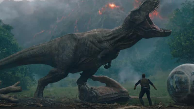 <p>6、《侏羅紀世界:殞落國度》,2018-06-06上映:「生命會自己找到出路。」(圖:Yahoo Sports) </p>