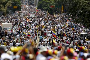 Venezuela protests turn violent
