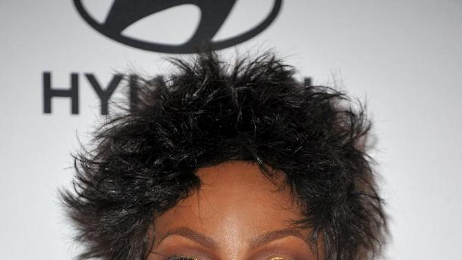 Recording artist Gladys Knight arrives at the Clive Davis Pre-GRAMMY Gala on Saturday, Feb. 9, 2013 in Beverly Hills, Calif. (Photo by John Shearer/Invision/AP)