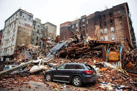 Two missing men likely found amid NYC gas explosion rubble: fire official
