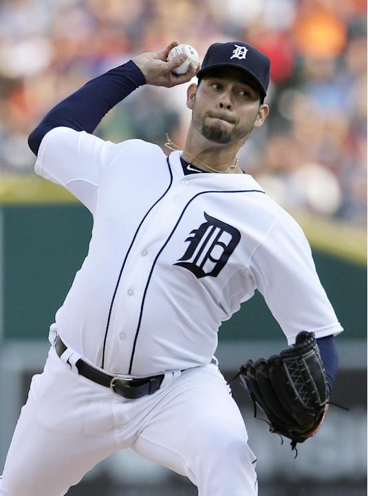 Tigers' Sanchez loses no-hit bid with one out in 8th