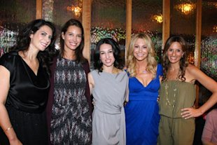 Lyss Stern, Christy Turlington Burns, Melissa Gerstein, Raina Seitell Gittlin, and Denise Albert