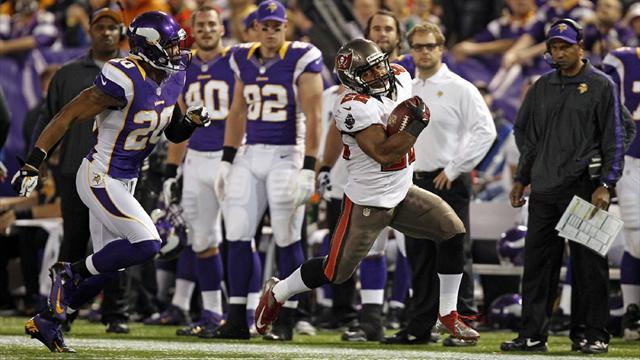 American Football - Tampa Bay bag big road win in Minneapolis