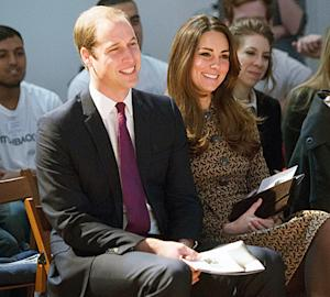 "Prince George Is ""Growing Up Fast,"" Says Kate Middleton"