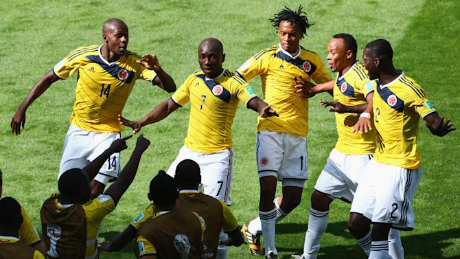 World Cup - Colombia ease to win over Greece
