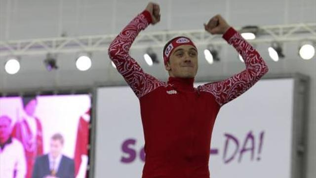 Speed Skating - Yuskov ends Russian wait for world title