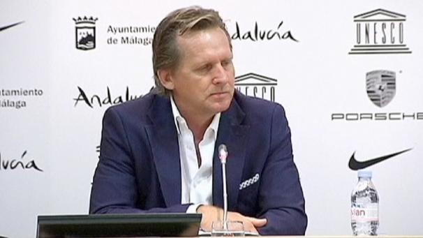 Schuster unveiled at Malaga