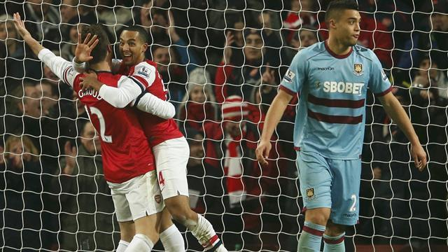 Premier League - Cannonate dell'Arsenal, 5-1 al West Ham