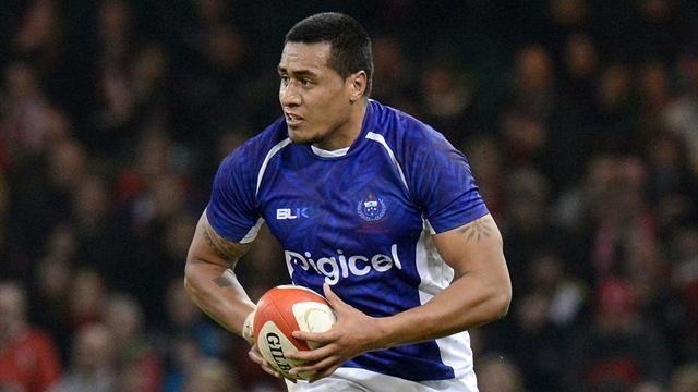 RaboDirect Pro12 - Cardiff Blues sign Samoa's Paulo