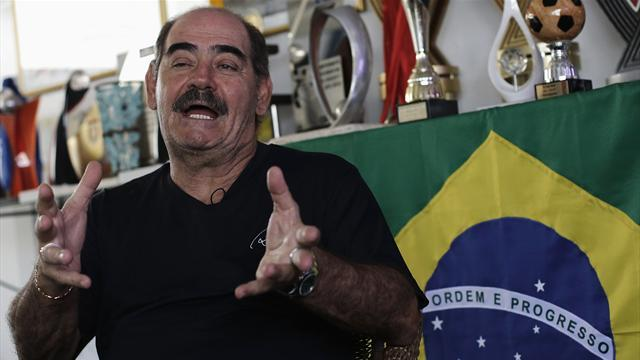 World Cup - Rivelino, 68, scores own goal in pre-World Cup exhibition