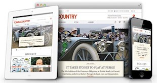 10 Examples Of Inspiring Responsive Web Design image town country rwd
