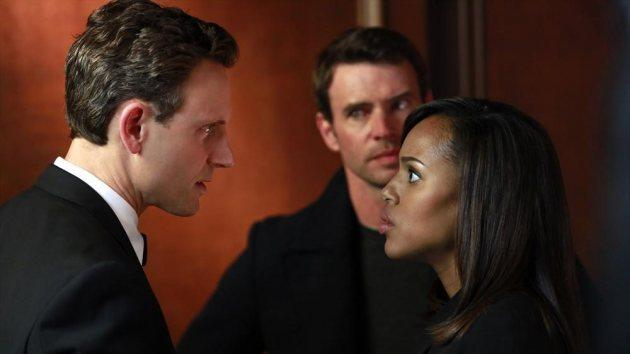 Tony Goldwyn and Kerry Washington on 'Scandal' -- ABC