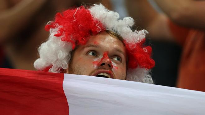 English Fans AFP/Getty Images
