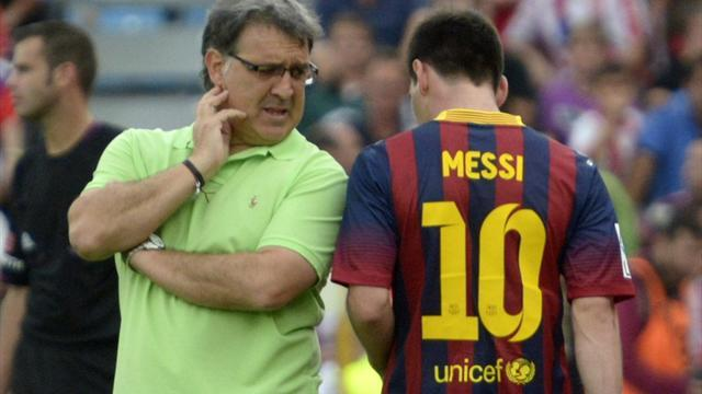 Liga - Barca: Tata going nowhere, Messi talks ongoing