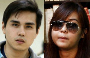 Ram Revilla and Janelle Manahan