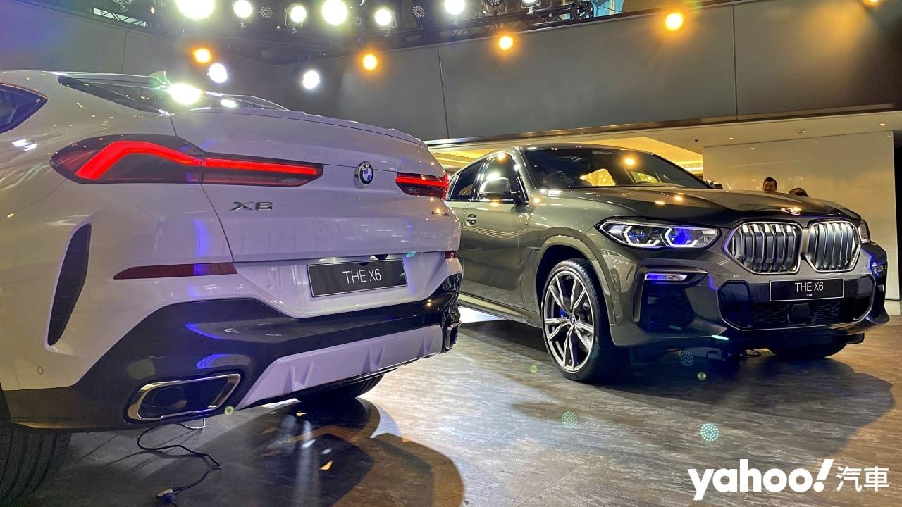 【新車圖輯】狂傲來襲、六倍震撼!全新BMW X6正式抵台!