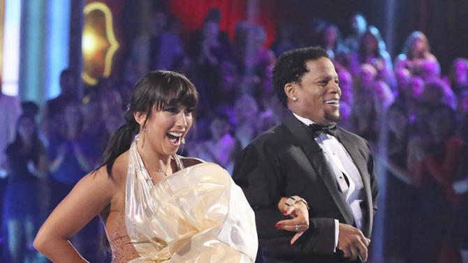 Cheryl Burke and D.L. Hughley (4/8/13)