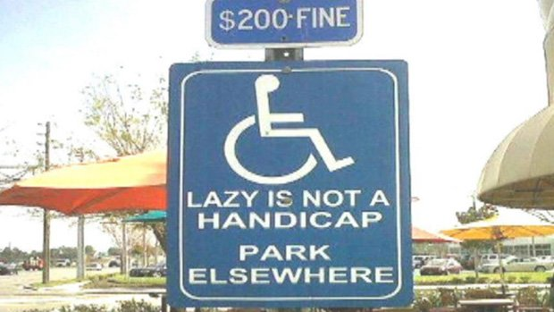 A parking sign from B.C. that is making rounds on social media.