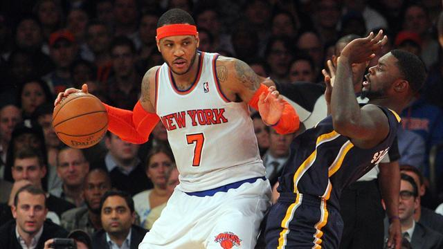 Basketball - Knicks begin Jackson era with victory over Pacers