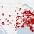 Mass shootings since Sandy Hook, in one map